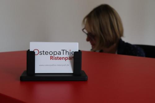 Praxis OsteopaThie Ristenpart, Anmeldung